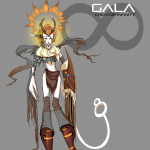 First full color Gala concept