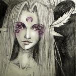 90- Artwork by Rikki de Amayreea