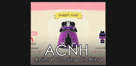 Animal Crossing clothing codes