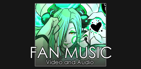 Music and video by fans