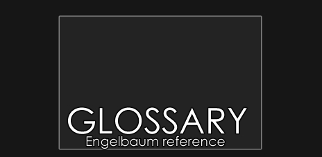 Glossary reference