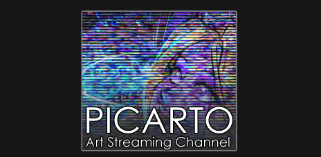 Picarto art streaming channel for Patreon supporters